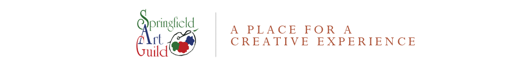 Springfield Art Guild – A Place for a Creative Experience logo